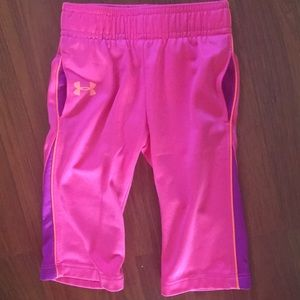 Baby girl under armour pants